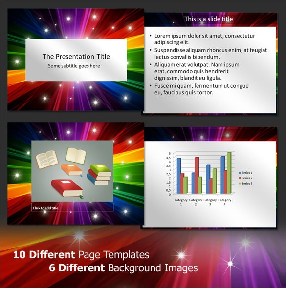 6 Professional Power Point Templates Sample Example Format