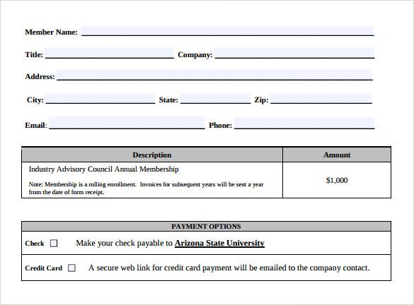 sample simple invoice template