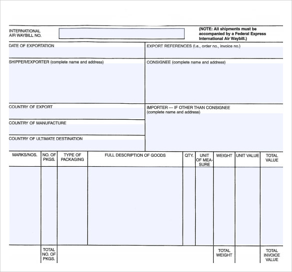 Invoice Receipt Templates to Download