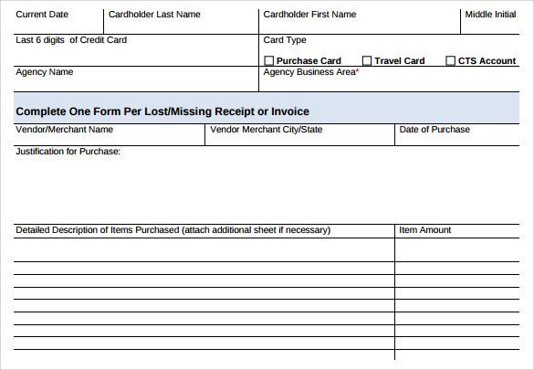 printable invoice receipt