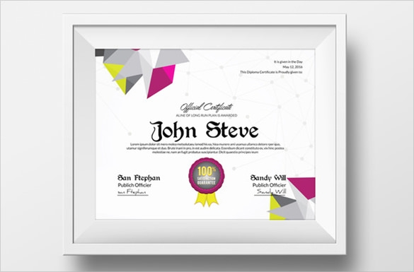 Certificate of participation template joy studio design for Talent show certificate template