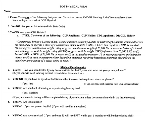 Attractive Pre Staging Application   Terms And Conditions. Bikeways Program. Fmcsa  Compliance Manual. Sample Dot Physical Form ... Photo