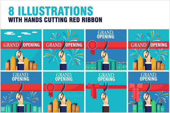 grand opening flyer template download