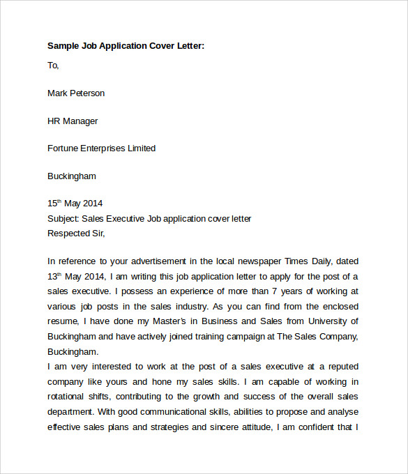 Civil Designer Cover Letter