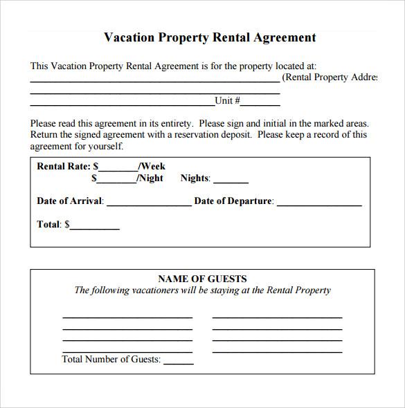 simple rental agreement 10 download free documents in pdf word. Black Bedroom Furniture Sets. Home Design Ideas