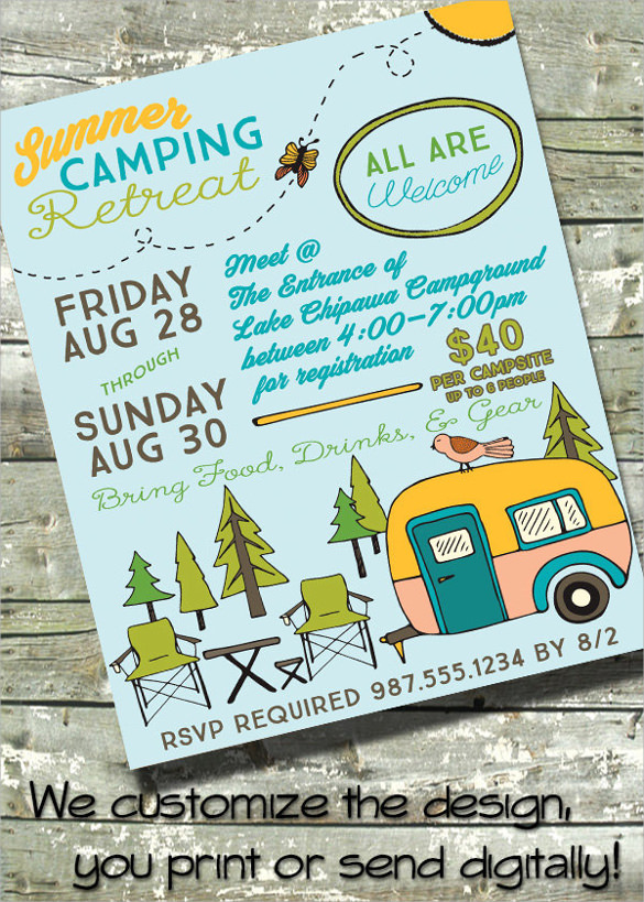Summer Camp Flyer Template - 11+ Download Documents in PDF ...