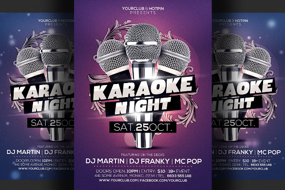Talent Show Flyer   Download In Pdf Psd Vector