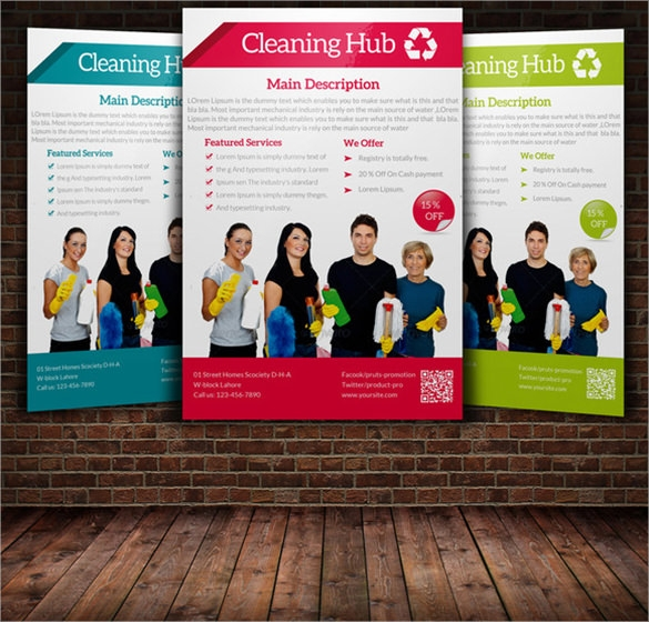 House Cleaning Flyer Template   Download Documents In Psd Vector Eps
