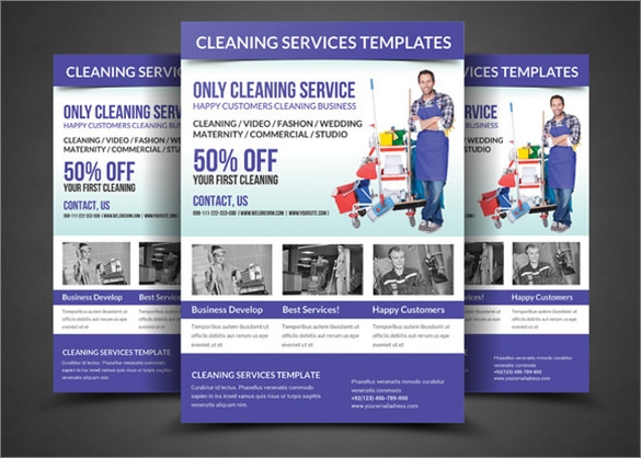 House Cleaning Flyer Template 9 Download Documents in PSD – House Cleaning Flyer Template