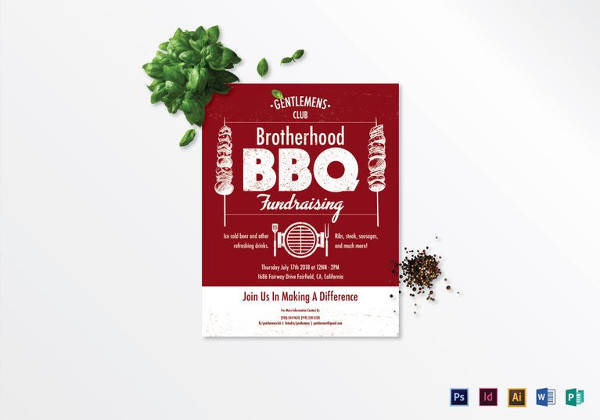 Fundraiser Flyer Template   Download In Psd Pdf