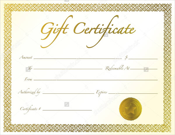 border gift certificate template