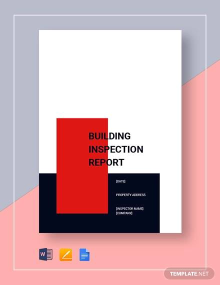building insoection report