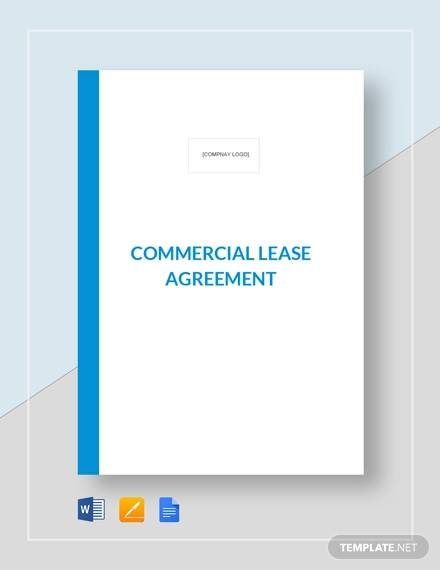 commercial lease agreement template3