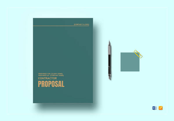 contractor proposal template3