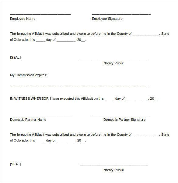 Sample Domestic Partnership Agreement 12 Free Documents
