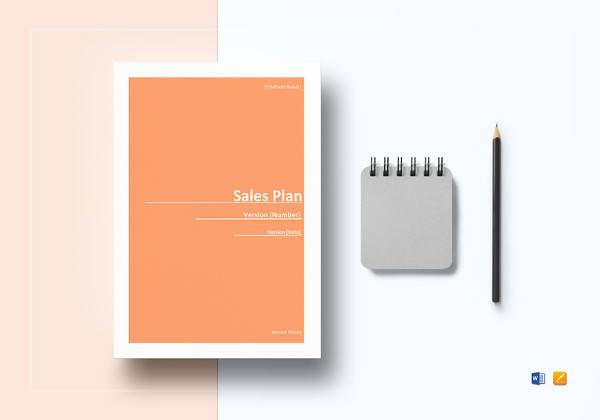 editable sales plan template