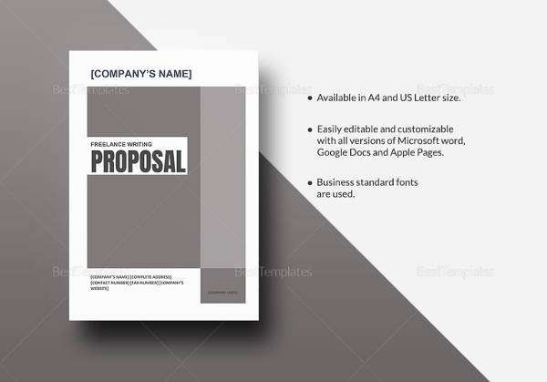 sample formal proposal template