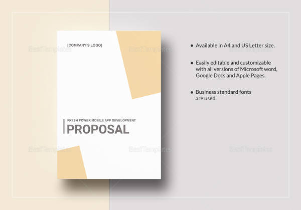 22 Proposal Samples Sample Templates