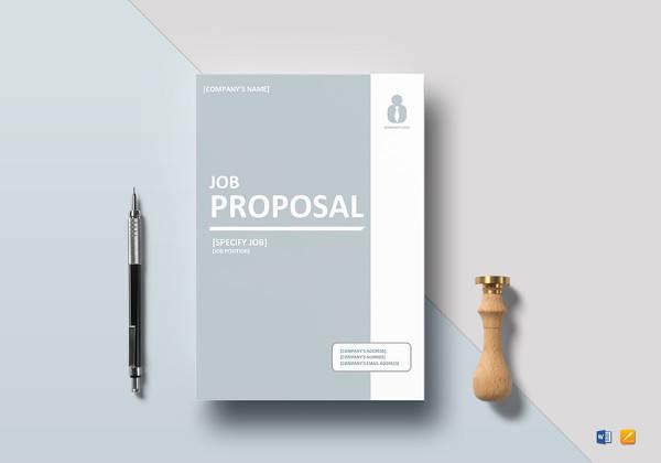 job proposal template in google docs
