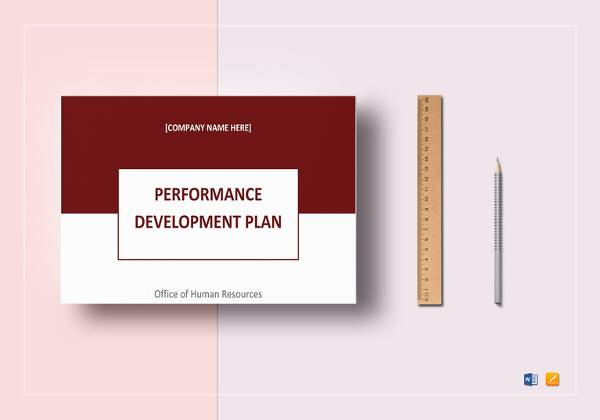 performance development plan template
