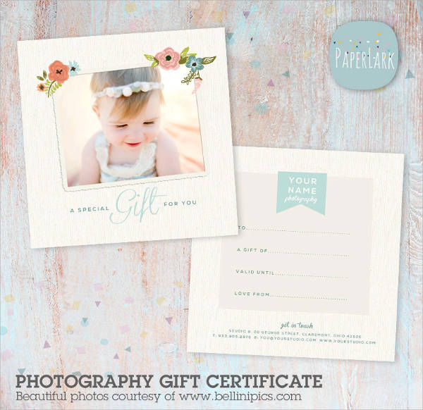 Sample Gift Certificate Template   Documents Download In Pdf