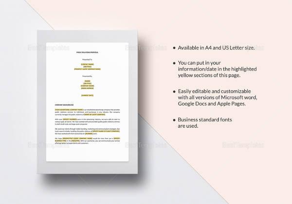 sample formal proposal 14 documents in pdf word. Black Bedroom Furniture Sets. Home Design Ideas