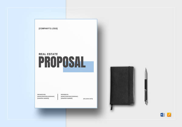 real estate proposal template in word