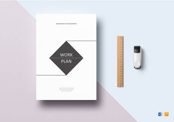 research work plan template