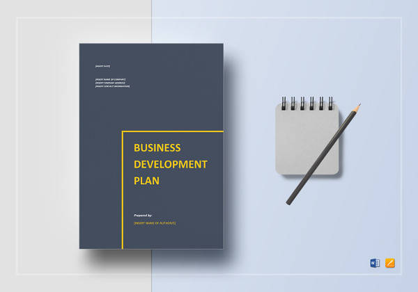simple business development plan template