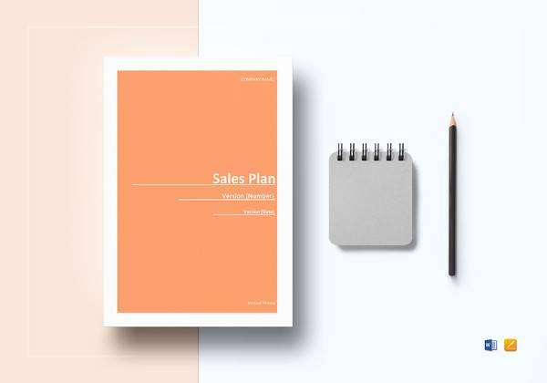 simple sales plan template