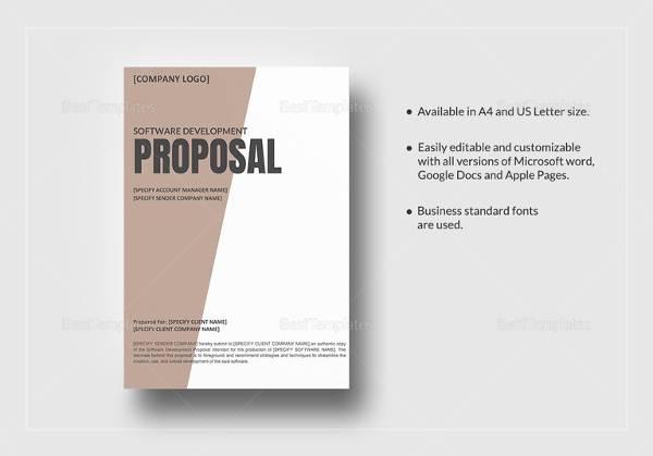 software development proposal template