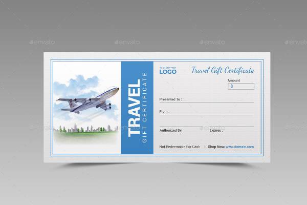 Travel Voucher Certificate Templates Trattorialeondoro