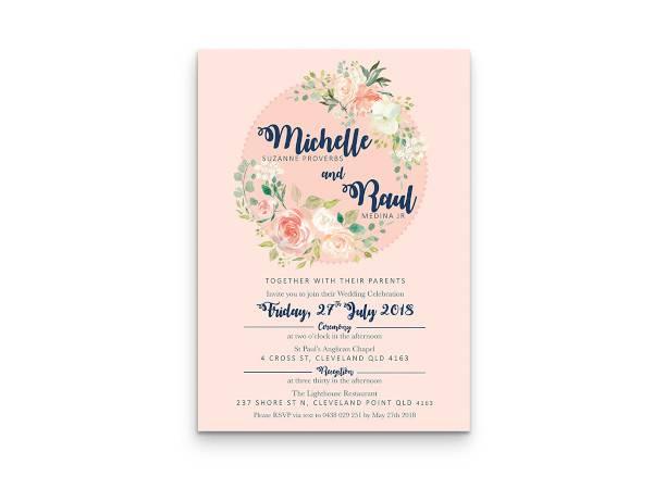 wedding invitation template3