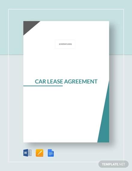 car lease agreement3