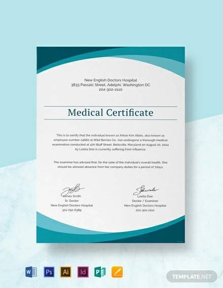free sample medical doctor