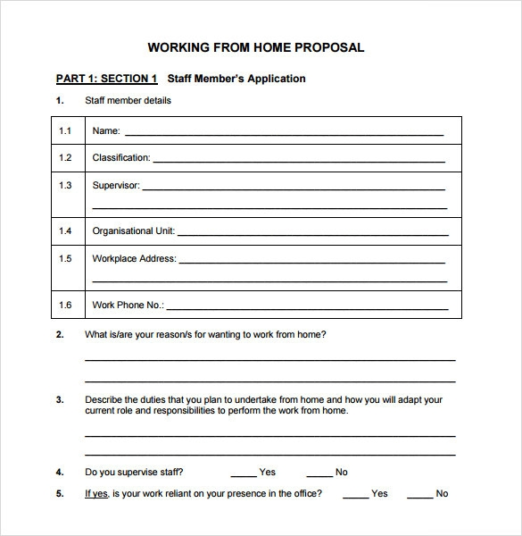 work proposal template pdf