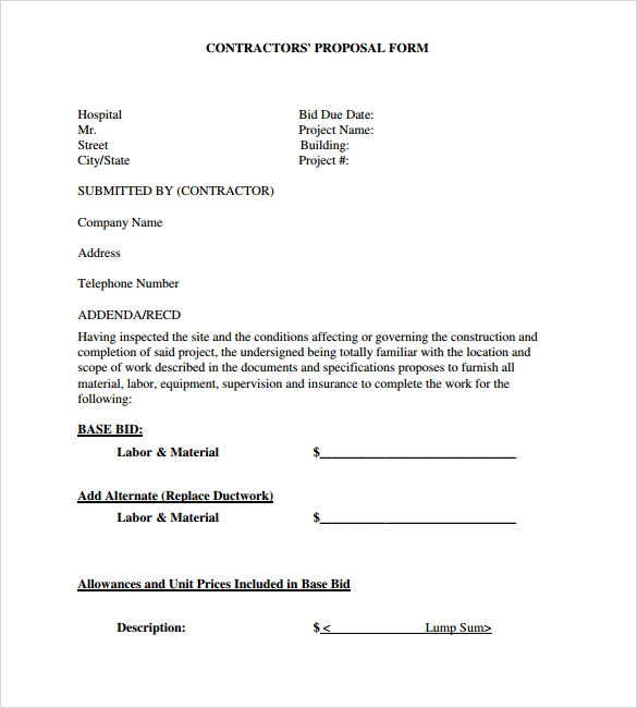 roofing proposal template  u0026 roofing contractor proposal template sc 1 st x