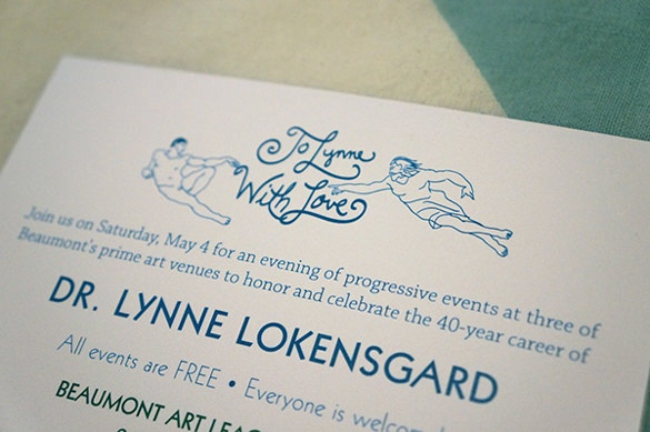 lokensgard retirement invitation flyer