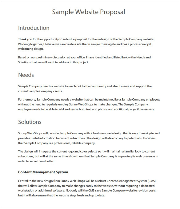 28 formal proposal templates sample templates formal proposal template free maxwellsz