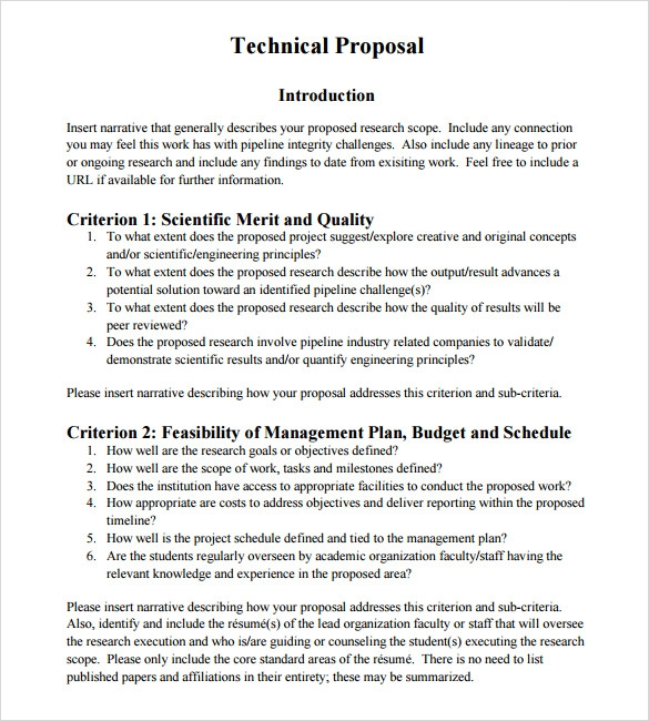 Formal Proposal Sample  BesikEightyCo
