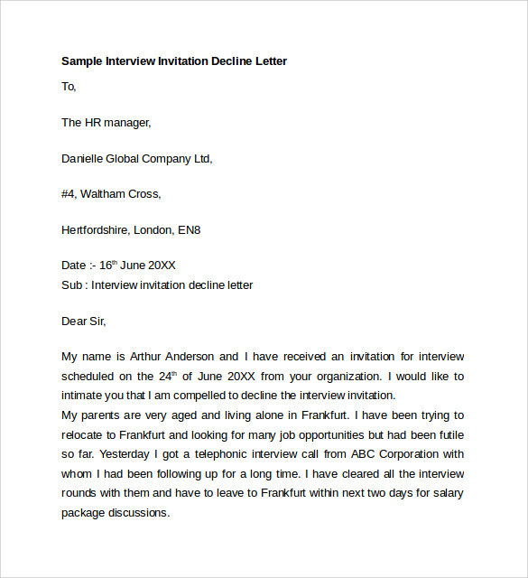 Letter Of Explanation 7 Download Free Documents In Word