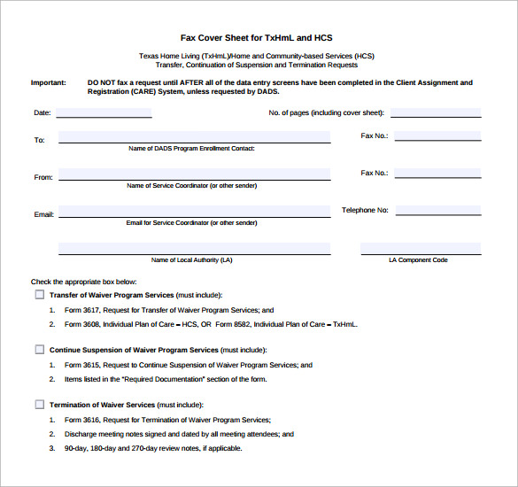 Sample Confidential Fax Cover Sheet   Documents In Pdf Word