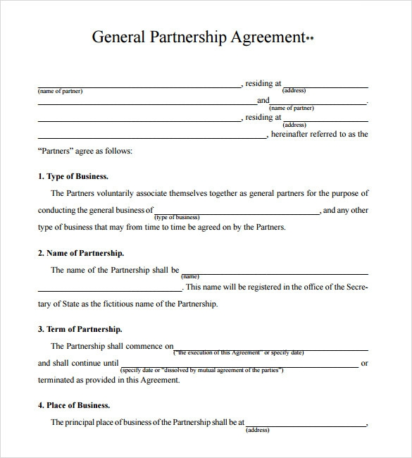 15 sample partnership proposals sample templates partnership proposal template pdf wajeb Images