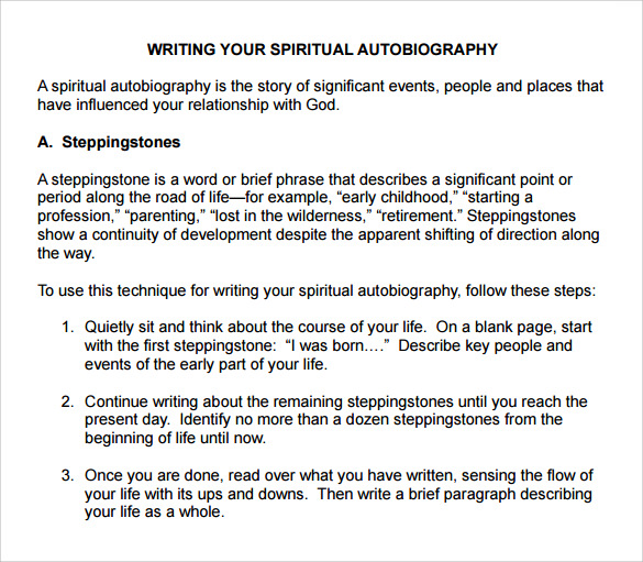 Buy autobiography paper examples