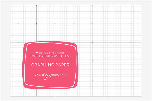 digital graphing paper vector