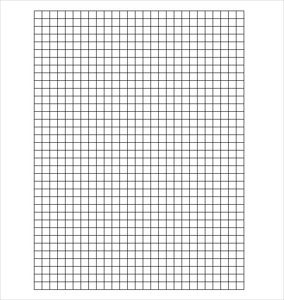 white and black 5 graph paper