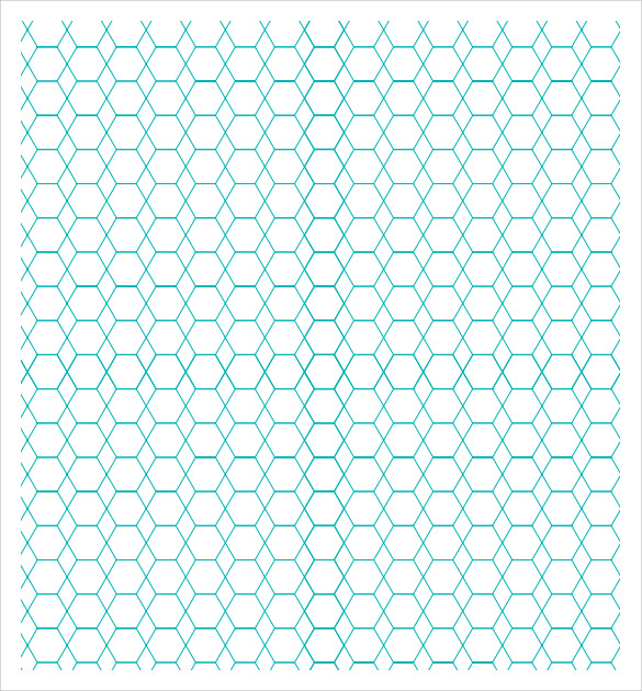 hexagon graph paper to print
