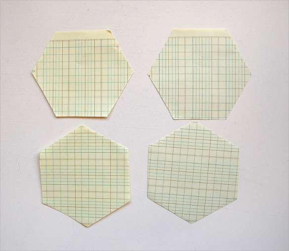 Sample Hexagon Graph Paper   Documents In Pdf Psd