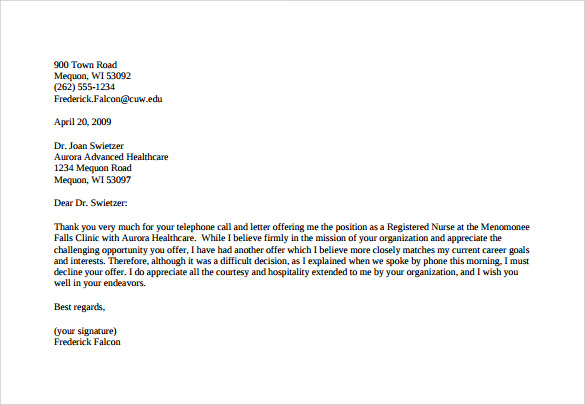 Salary Negotiation Letter Examples | Template