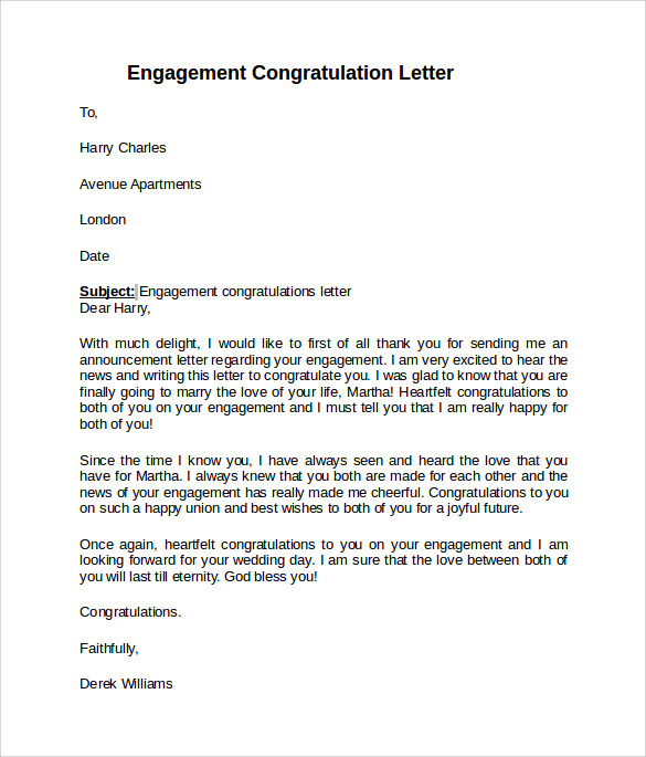 sample engagement letter